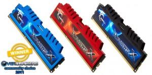 Best Memory - G.Skill RipjawsX Series DDR3