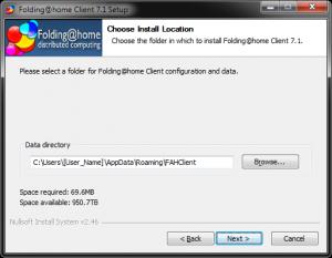 Folding At Home ver. 7beta install process #4