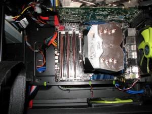 Freezer 13 mounted on LGA1366 board.