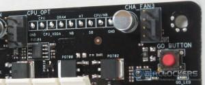 GO Button, Voltage Read Points