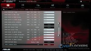 DRAM Timing Control 2