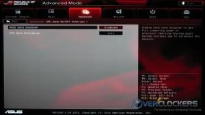 Advanced / CPU Core Unlocker