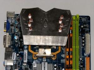 Fan side, AMD mount.