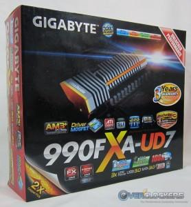 Gigabyte 990FXA-UD7 Box