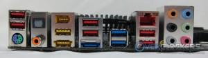 Rear I/O Panel Connectivity