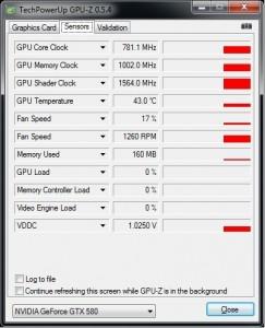 GPUz 5.4 (Sensors tab)