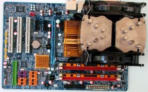 Installed on LGA775 board.