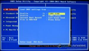 Load CMOS Settings