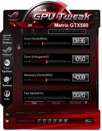 GPU Tweak (Courtesy: Asus)