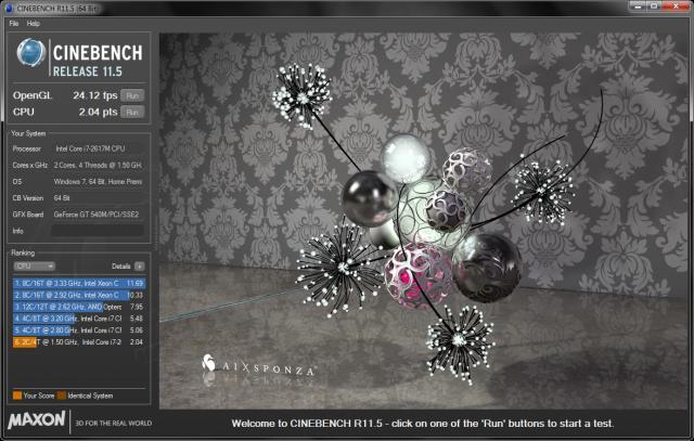 Cinebench 11.5 x64