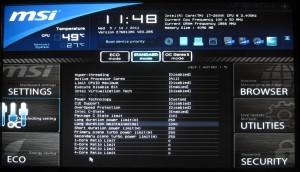 Click Bios II - Overclocking, CPU Features