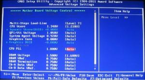 BIOS Voltages (Inside MIT)