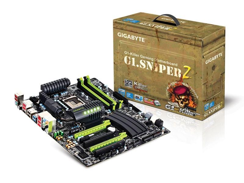 Gigabyte G1.Sniper2 (Image Courtesy of Gigabyte)