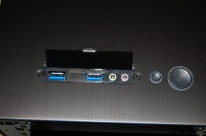 Top I/O Panel