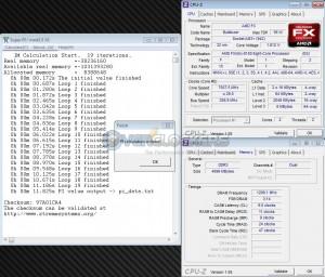 SuperPi 1M @ 7507 MHz