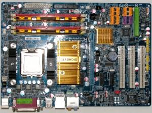 Intel mount on LGA775 board.