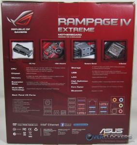 ASUS Rampage IV Extreme Box Rear