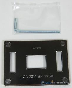 LGA1366 Backplate