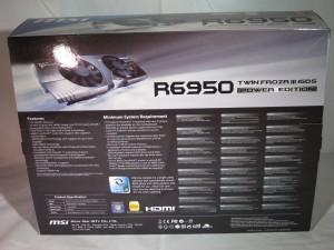 MSI R6950 TwinFrozr III packaging (rear)