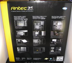 Antec 1100 retail packaging (Rear)
