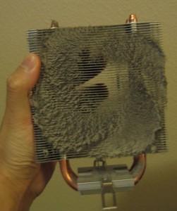 Dusty Heatsink (Courtesy cmichaelt)