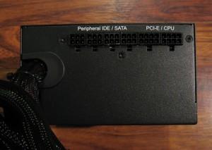 HALE82 850w PSU, output side.