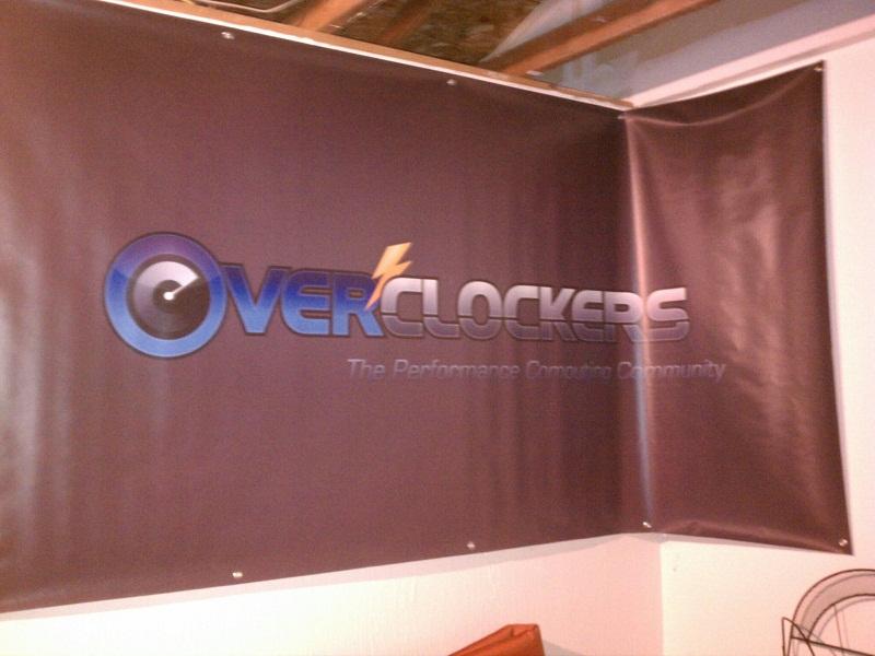 Overclockers Banner Garage
