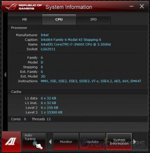 System Info - CPU