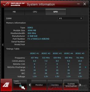 System Info - SPD