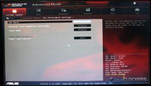 CPU Performance Settings