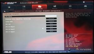 CPU Power Management Configuration