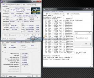SuperPi 1M @ 5000 MHz