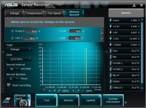 Sensor Recorder History
