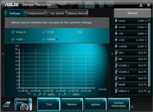 Sensor Recroder Voltage