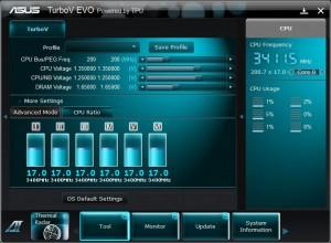 CPU Ratio settings