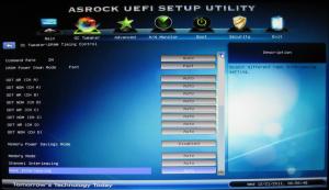 Bios Overclock Tweaker DRAM Timings (bottom)