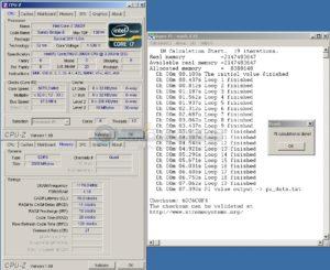 SuperPi 1M @ DDR3-2340 / 10-11-10-28