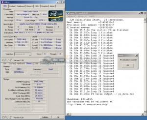 SuperPi 32M @ DDR3-2294 / 10-11-10-28
