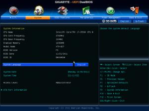 UD7 Bios - System