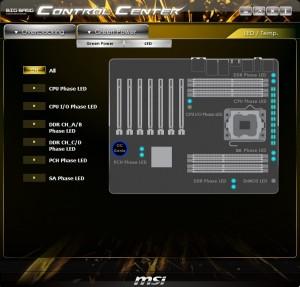 Mainboard LED Map