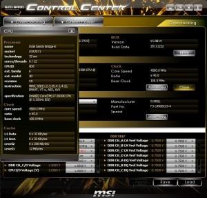 CPU Specs