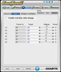 Tuner Tab - Advanced - Multiplier Settings