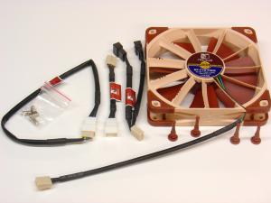 Noctua NF-F12 PWM and accessories