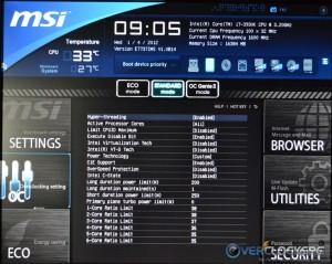 CPU Features