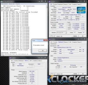 5 Ghz SPi 32M using Direct OC