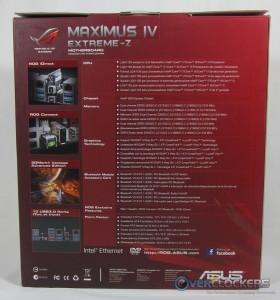 Maximus IV Extreme-z Box Rear