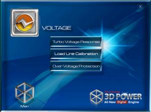 3D Voltage Control