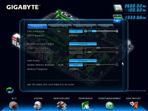 BIOS - 3D Mode Menus