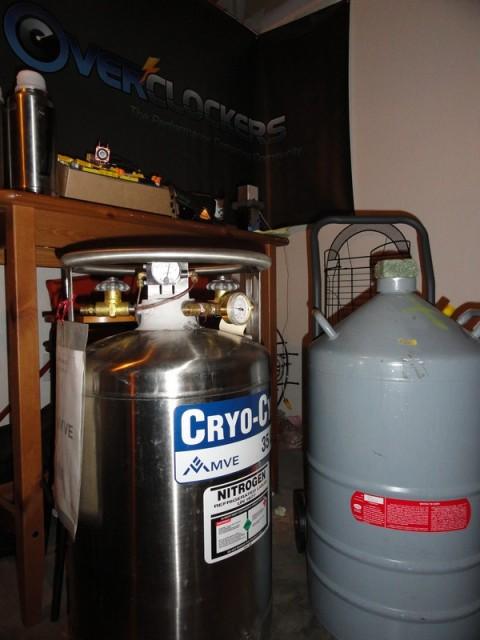 85 Liters of Liquid Nitrogen
