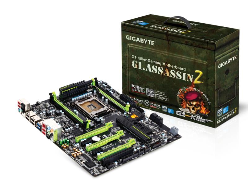 Gigabyte G1.Assassin 2 (courtesy of Gigabyte)